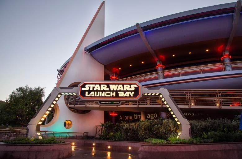 Star Wars Land, Star Wars Launch Bay, Star Wars Disneyland