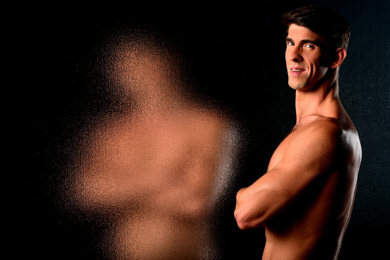 Michael Phelps, Michael Phelps portrait