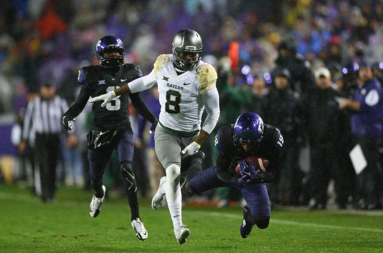 Ishmael Zamora, Baylor University, dog beating, wide receiver