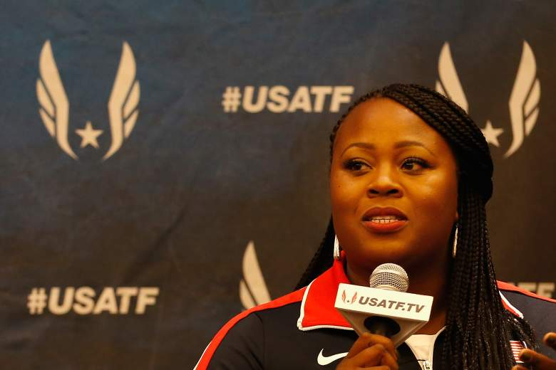 Michelle Carter, Michelle Carter shot put, Michael Carter daughter, Team USA, shot put