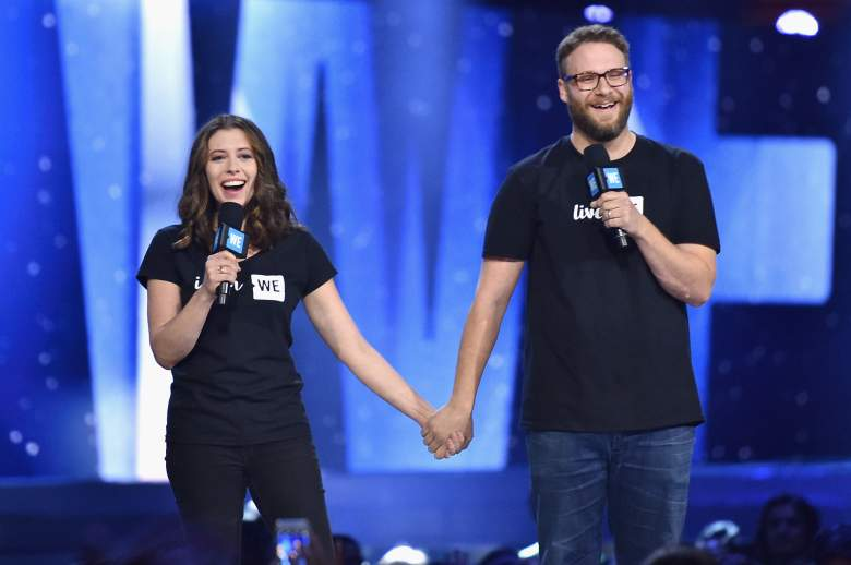 Seth Rogen, Lauren Miller, wife, Sausage Party