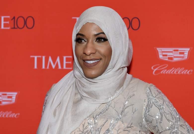 Ibtihaj Muhammad, head covering, fencer, hijab, muslim olympian, who is,  religion, ehtnicity