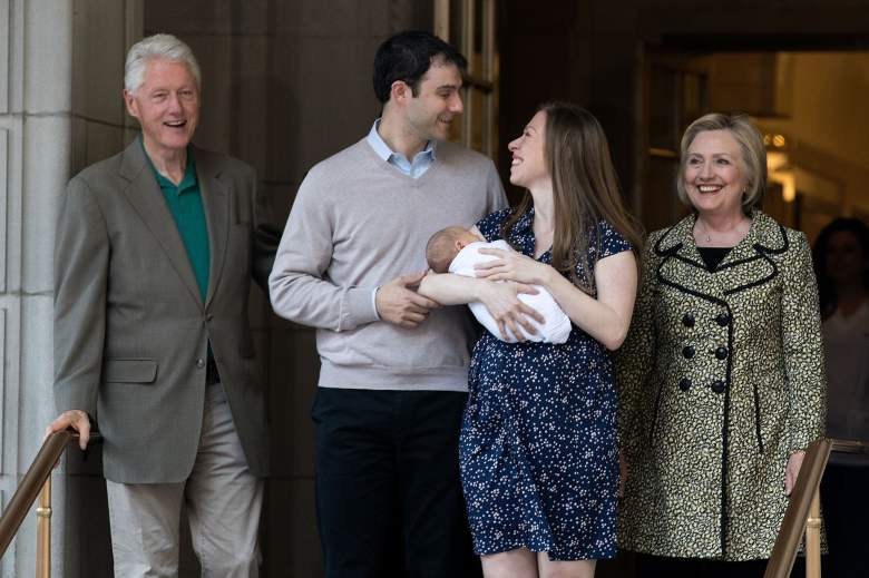 Chelsea Clinton, Chelsea Clinton family, Hillary Clinton family