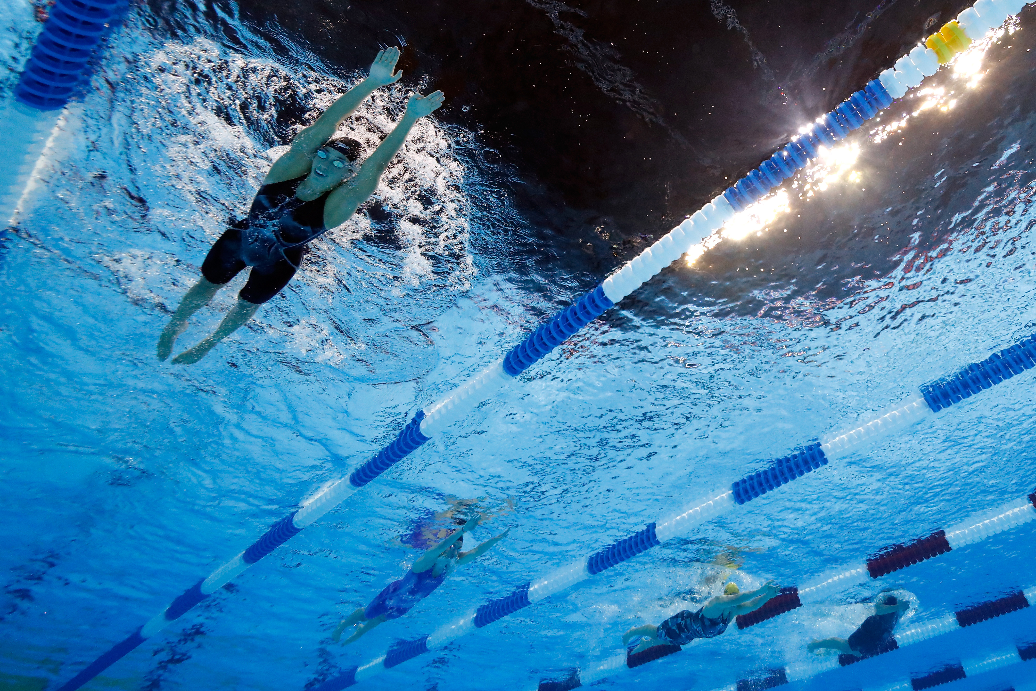 Rob Andrews, Maya DiRado, Rio, Olympics, swimming