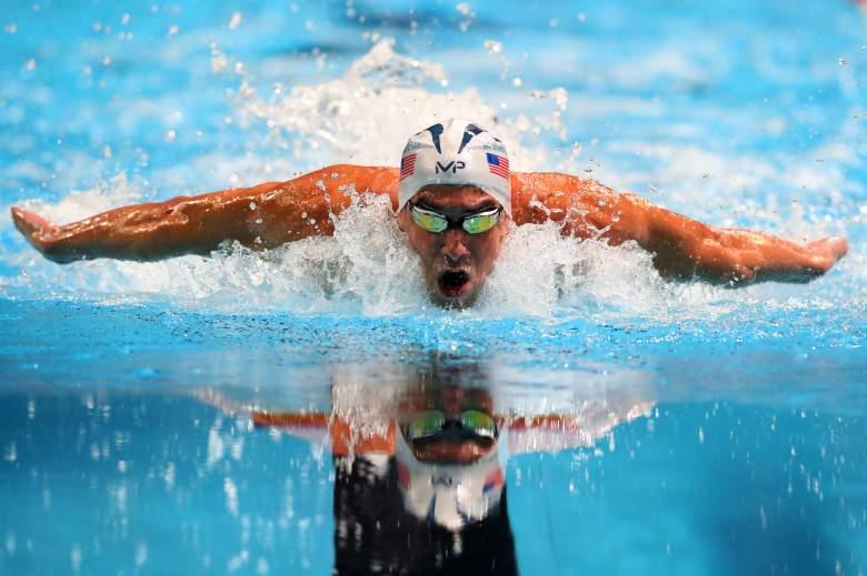 Michael Phelps medals, Michael Phelps Olympics
