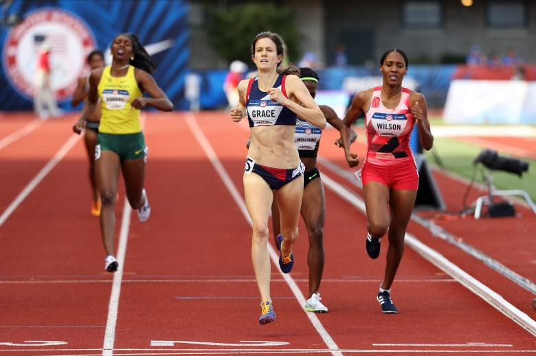 Kate Grace bio, Kate Grace, 800m, Team USA, track and field