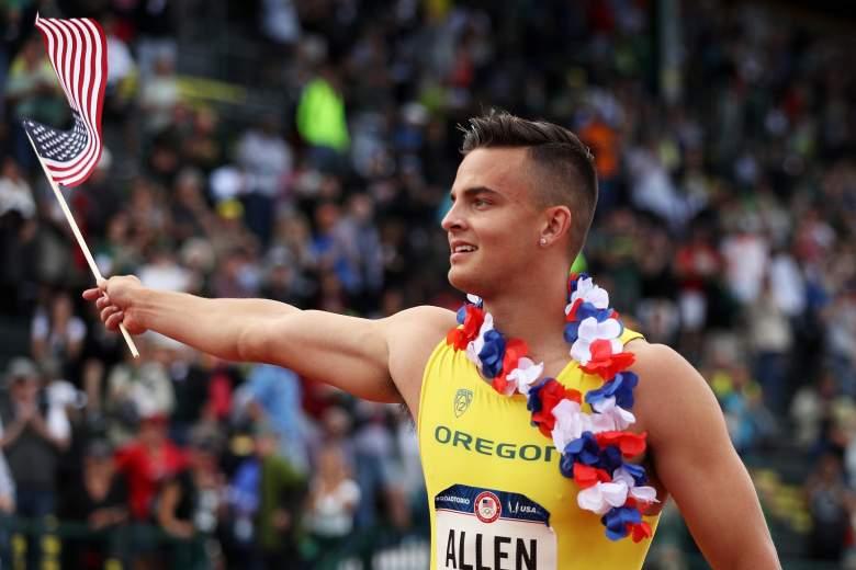 Devon Allen bio, Devon Allen, Rio Olympics, Olympic trials