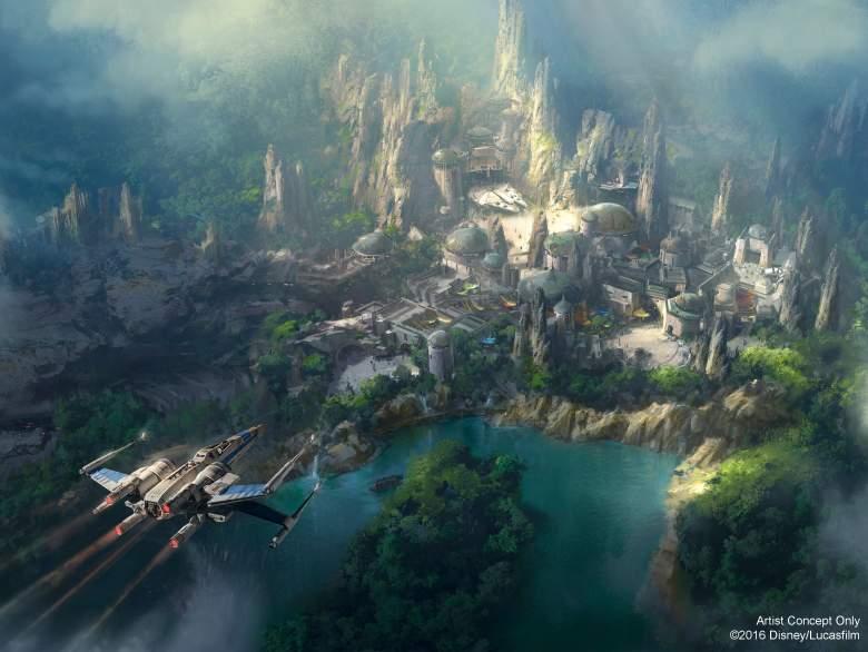 Star Wars Land, Star Wars Theme Park, Star Wars Disneyland