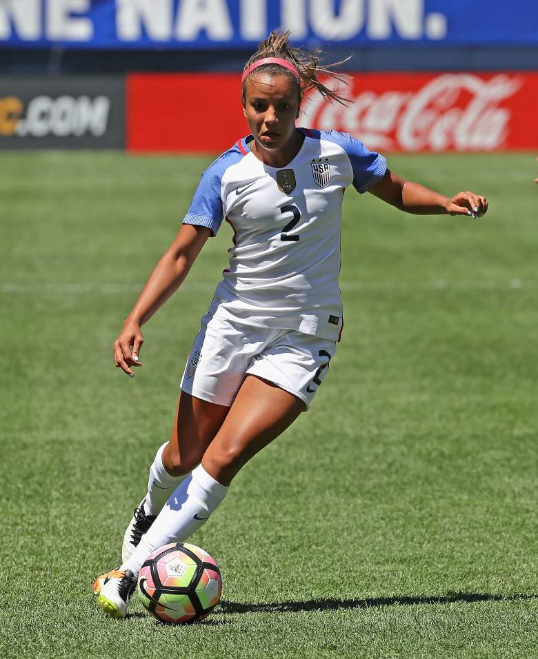 Mallory Pugh will be one of the youngest American athletes to ever travel to the Olympics. (Getty)