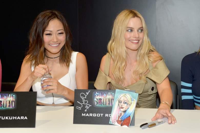 Suicide Squad, Margot Robbie, Karen Fukuhara, Katana, Katana actress