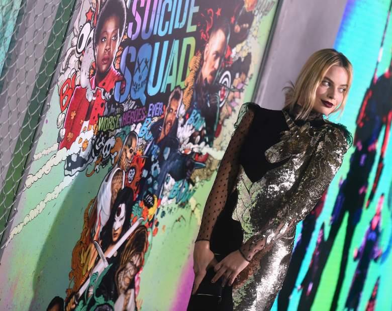 Margot Robbie unicorn dress, Margot Robbie Suicide Squad, Suicide Squad premiere, Harley Quinn