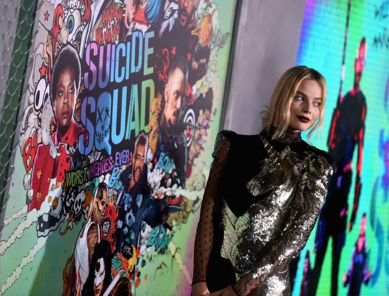 Margot Robbie, Margot Robbie Red carpet, Margot Robbie Suicide Squad, Suicide Squad premiere