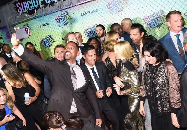 Will Smith, Suicide Squad premiere, Suicide Squad cast, Suicide Squad, Margot Robbie