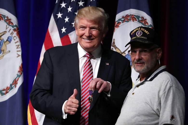 Louis Dorfman, Donald Trump Purple Heart, Donald Trump Military