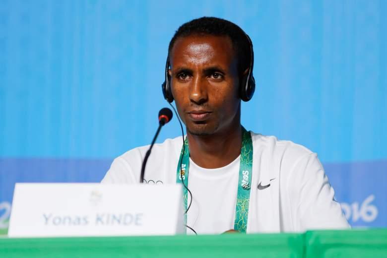 Yonas Kinde, ROT, Refugee Olympic Team, Refugee Olympic Team Members