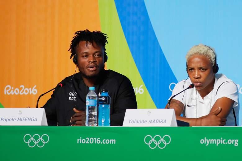 Popole Misenga, Yolande Mabika, ROT, Refugee Olympic Team, Refugee Olympic Team Members
