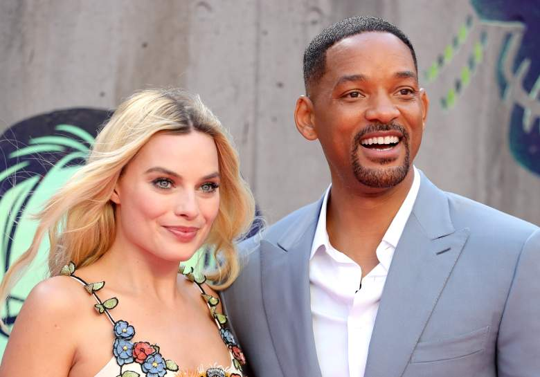 Will Smith, Margot Robbie, Suicide Squad cast
