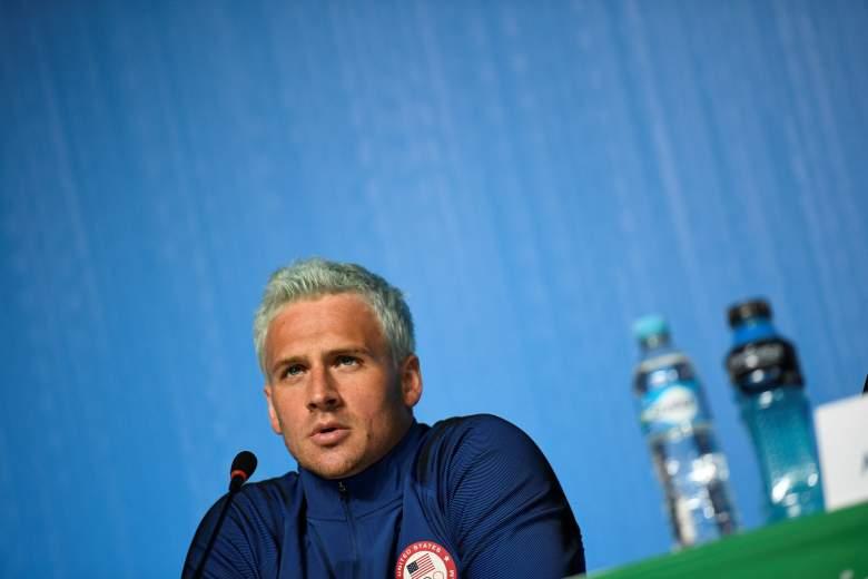 Ryan Lochte, Ryan Lochte hair, Ryan Lochte grey hair, Ryan Lochte Rio, rio Olympics