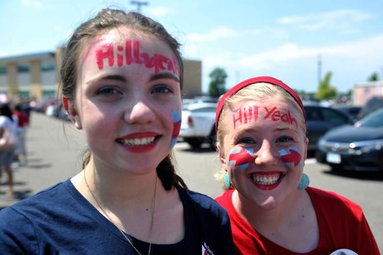 Hillary Clinton Colorado rally, Hillary Clinton supporters, Hillary Clinton Colorado, Clinton Commerce City