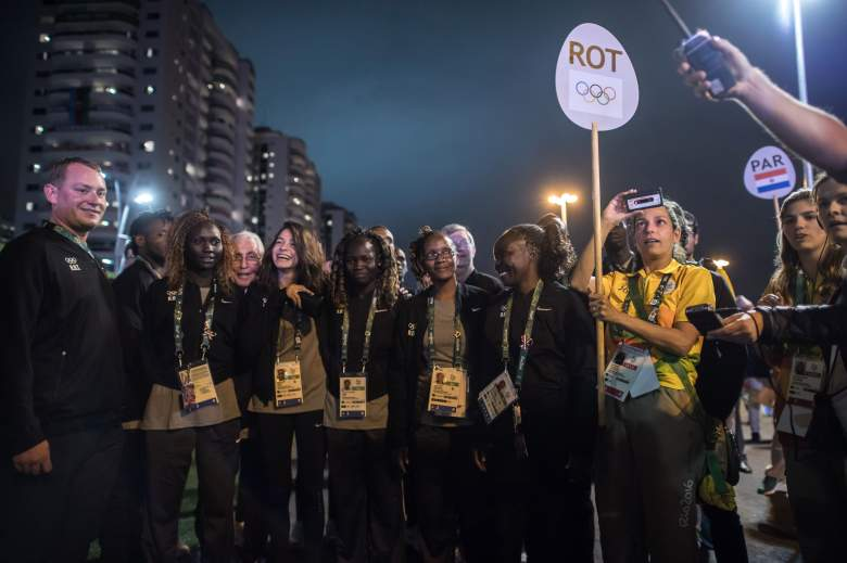 Olympics, Refugee Olympic Team, ROT, Refugee Olympic Team members