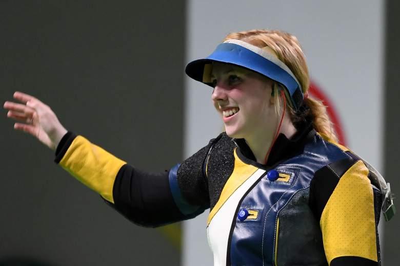 Virginia Thrasher, Ginny Thrasher, Team USA shooting, Team USA gold medal, Rio Olympics
