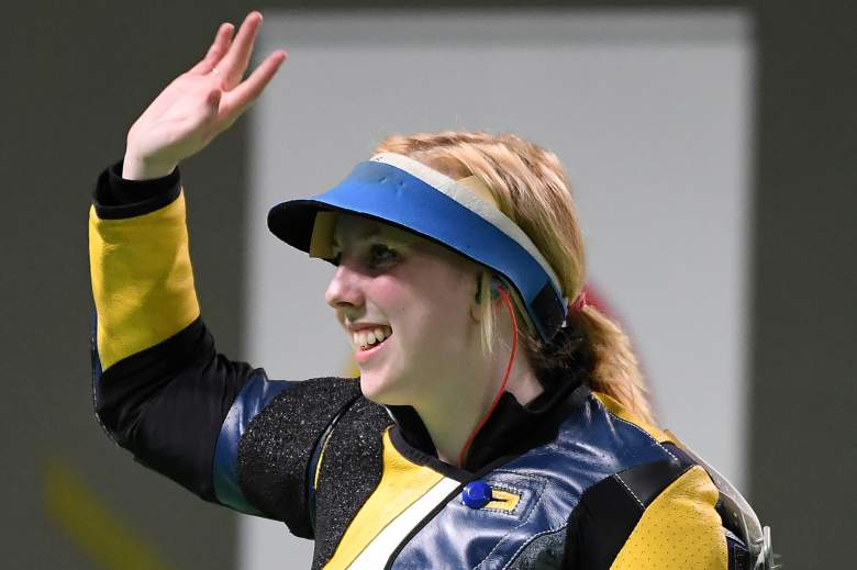 Virginia Thrasher, Ginny Thrasher, Team USA, Team USA gold medalist, Rio Olympics,