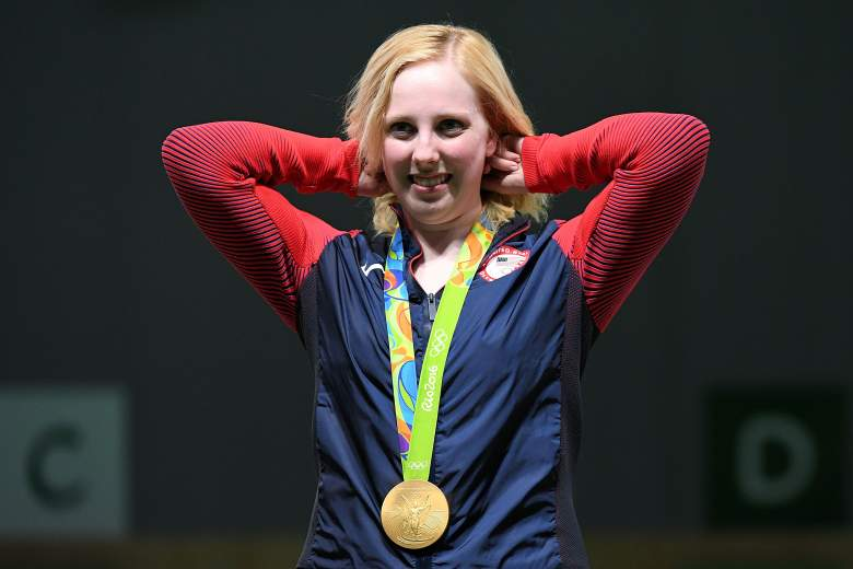 Virginia Thrasher, Ginny Thrasher, Olympics, first gold medalist, Team USA