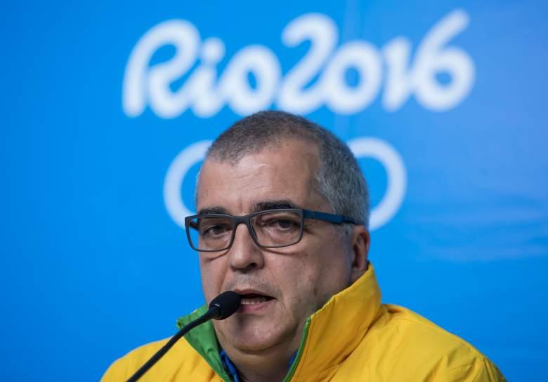 Mario Andrada, Lochtegate, Rio Olympics spokesman