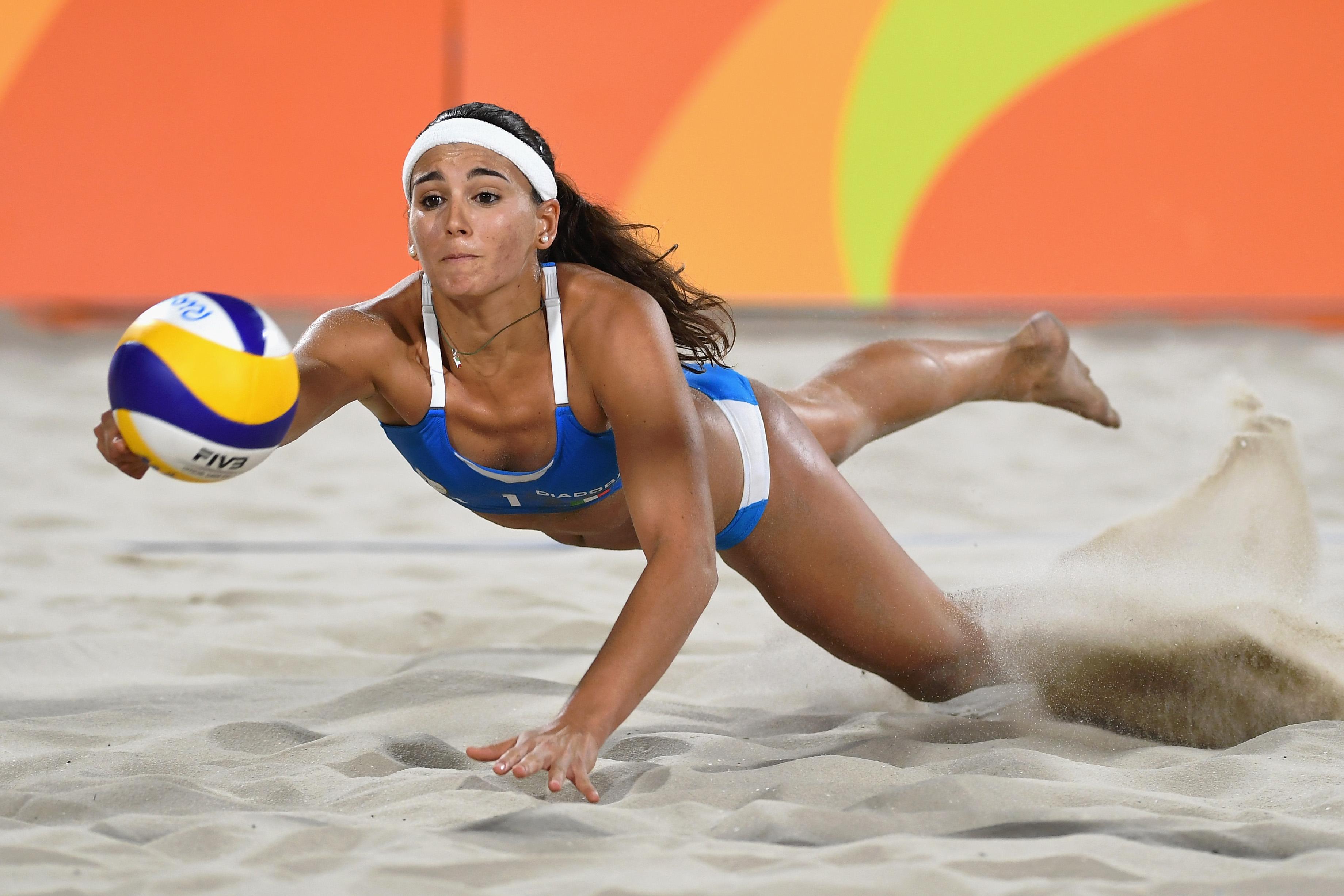 Marta Menegatti, Olympics, beach volleyball