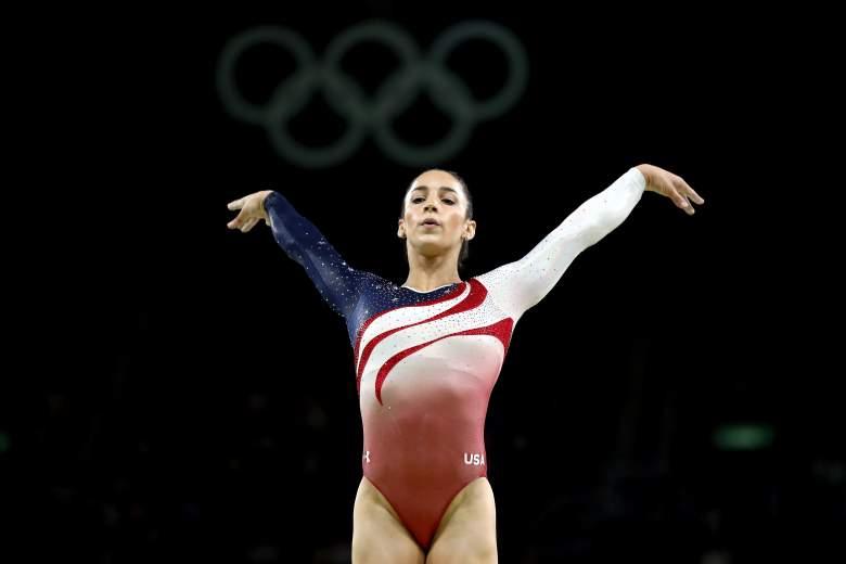 gymnastics results, olympics, rio, all-around, aly raisman, simone biles, usa