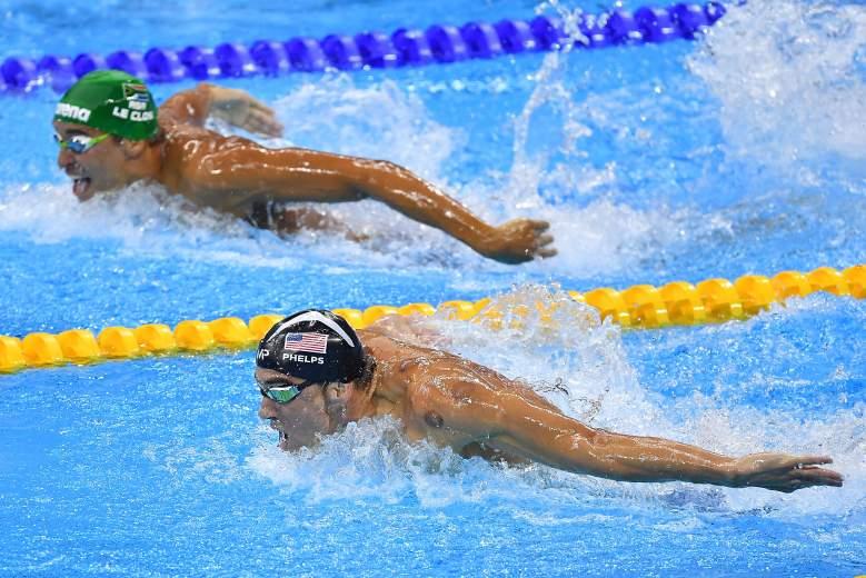 Chad le Clos, Michael Phelps, Rio Olympics