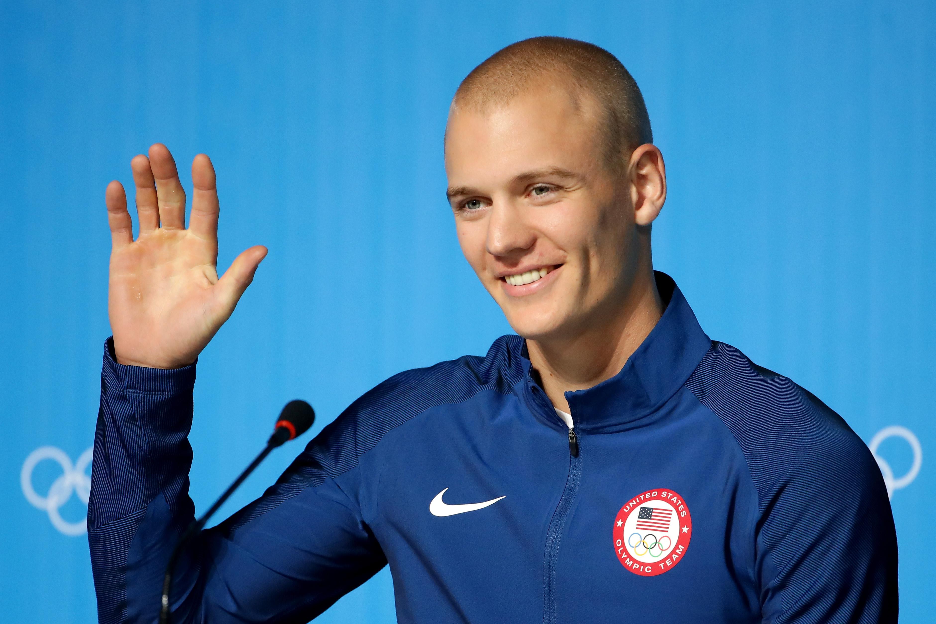 Sam Kendricks, pole vault, track and field, Olympics