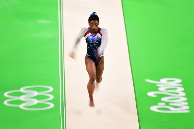 Simone Biles' vault, Simone Biles' vault individual all-around finals, Simone Biles Vault Rio Olympics 2016