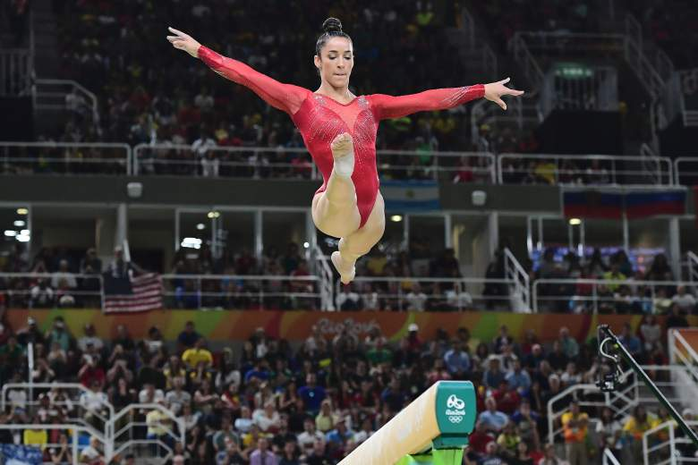 Aly Raisman beam, Aly Raisman beam routine, Aly Raisman Rio