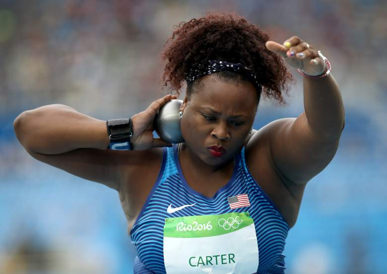 Michelle Carter, Shot put, Team USA shot put, USA shot put, Michael Carter daughter, Rio Olympics