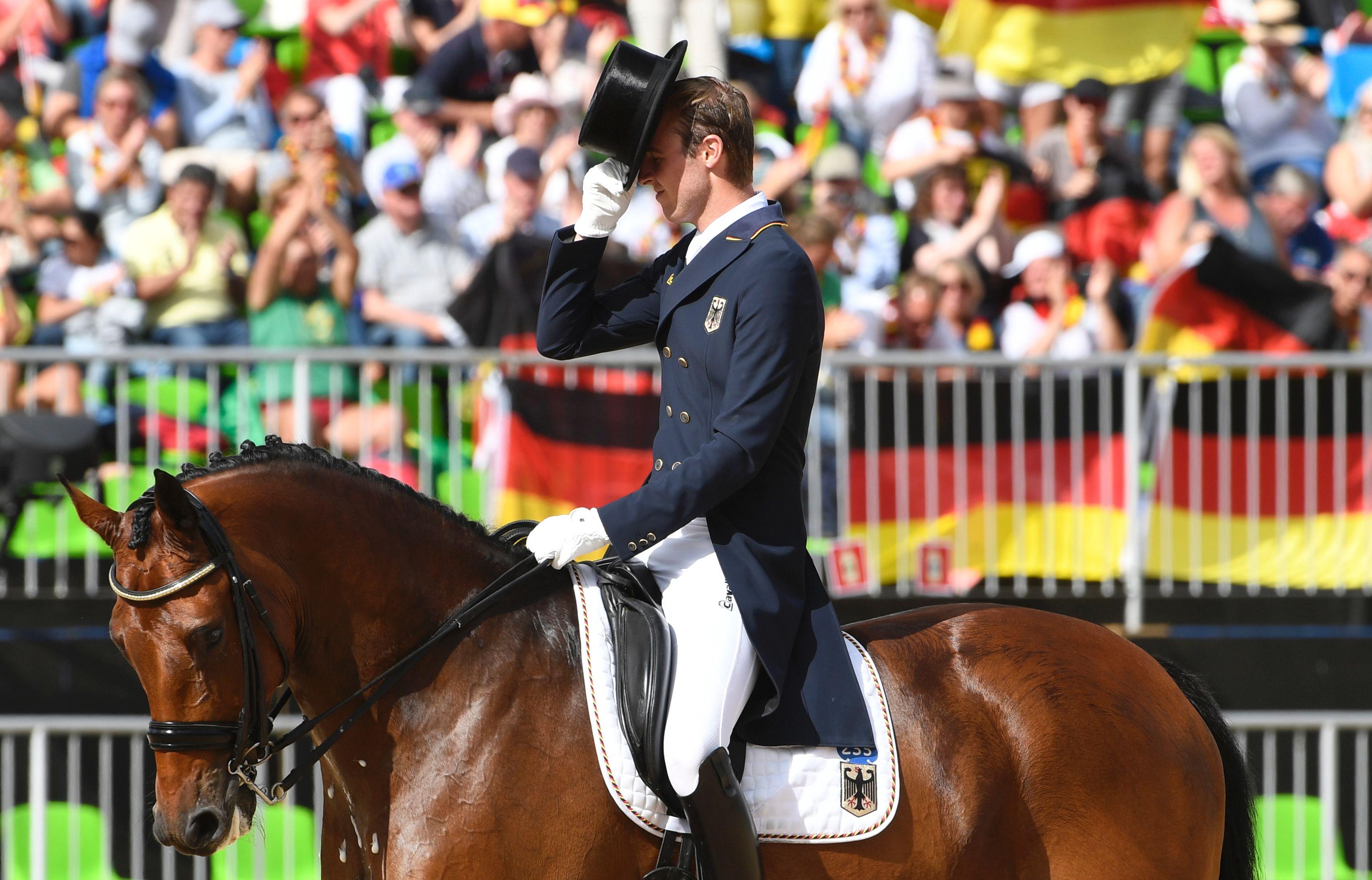 Olympics, equestrian, dressage, live stream