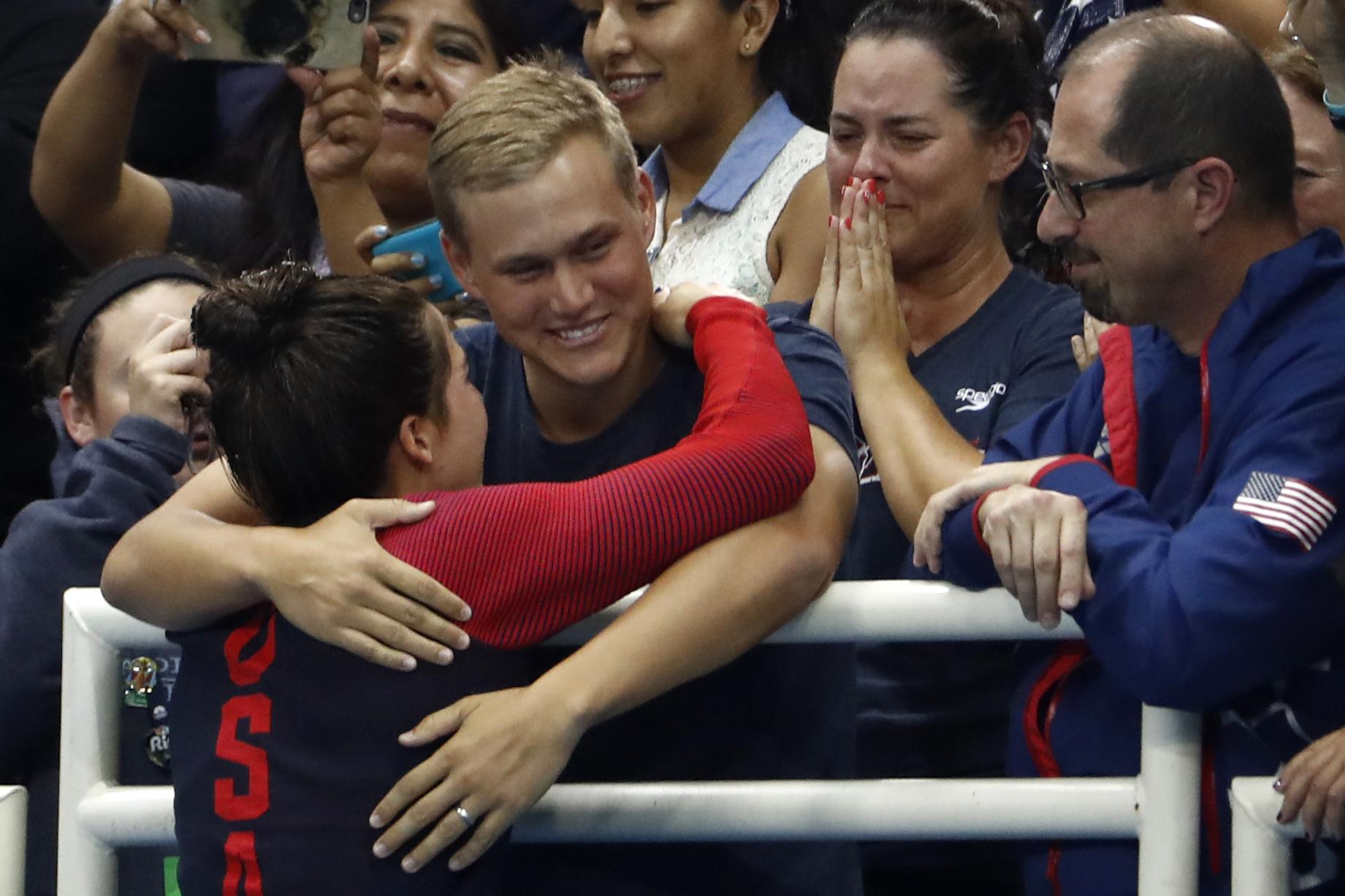 Rob Andrews, Maya DiRado, swimming, Olympics