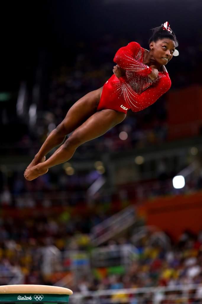 Simone Biles Vault, Simone Biles Vault at Event Finals Rio Olympics, Simone Biles Gold on Vault at Rio Olympics 2016