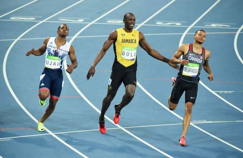 Andre DeGrasse, Andre DeGrasse and Usain Bolt, Andre DeGrasse Canada, Andre DeGrasse 2016, Andre DeGrasse Net Worth, Andre DeGrasse Track