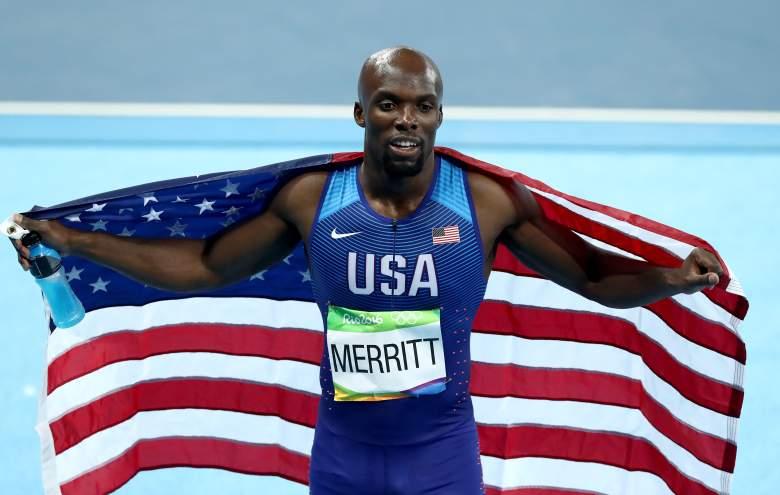 LaShawn Merritt, LaShawn Merritt Rio, LaShawn Merritt family, Rio Olympics