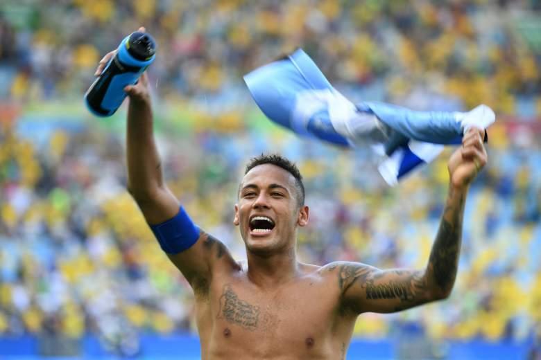 Neymar Net Worth, Neymar shirtless, Neymar tattoos, Neymar Rio Olympics