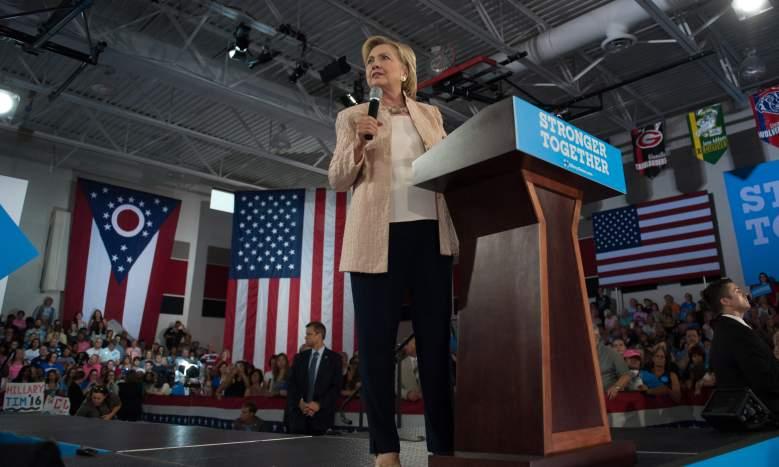 Hillary Clinton, Hillary Clinton rally
