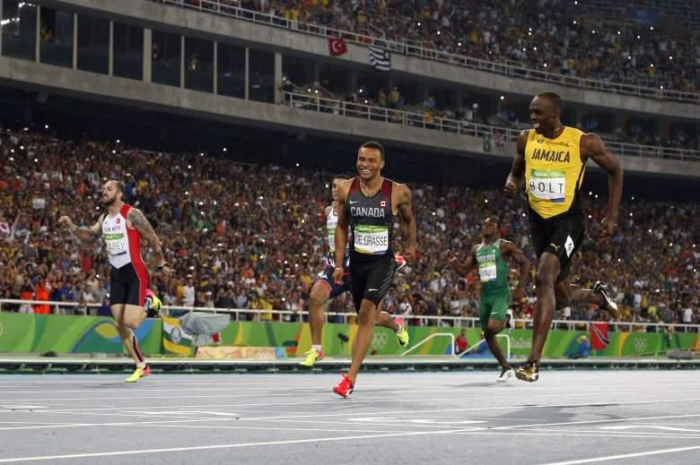 Andre de Grasse, Andre de Grasse & Usain Bolt, Andre De Grasse family