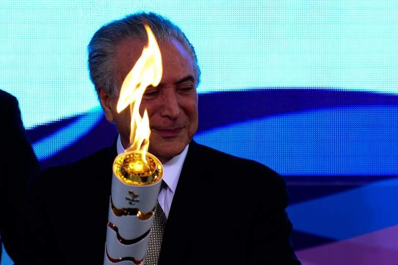 michel temer, rio, olympics, president, impeach,