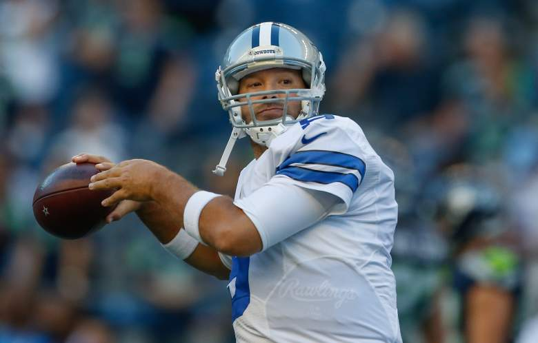 Tony Romo, Tony Romo injury, Dallas Cowboys