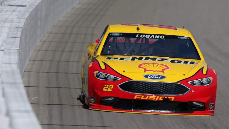 nascar pure michigan 400 2016 pole qualifying results race starting lineup positions