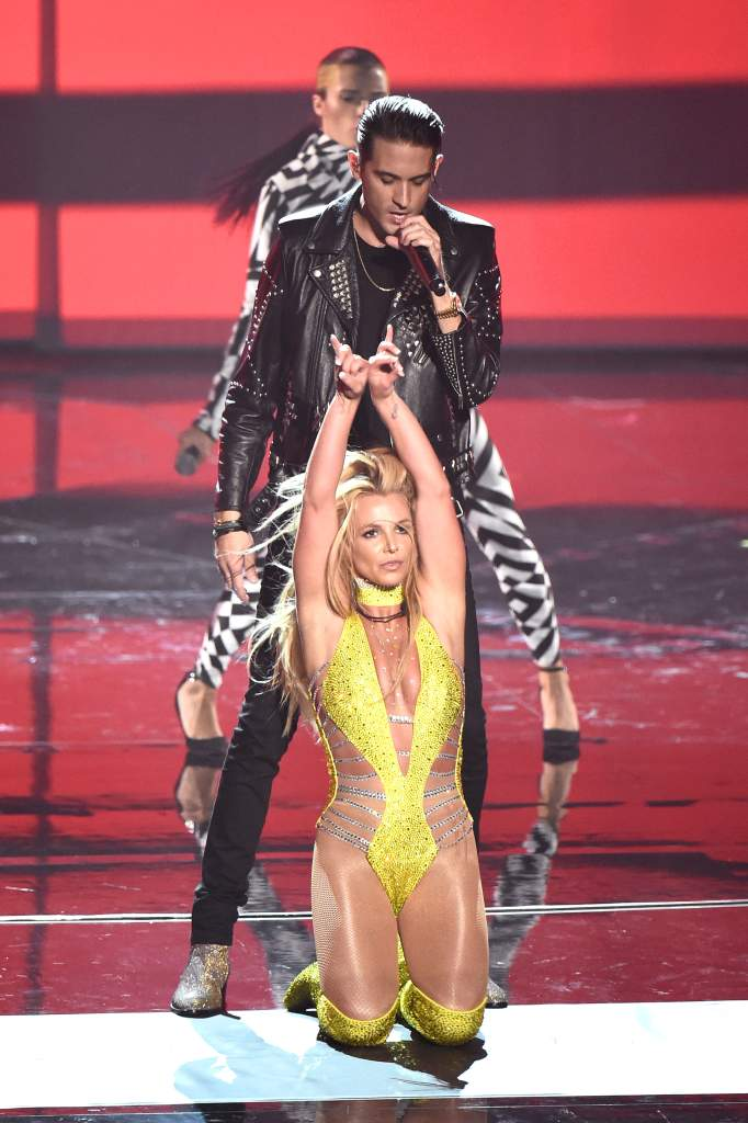 Britney Spears, Britney Spears Hot, Britney Spears VMAs 2016 Performance, Britney Spears Make Me, Britney Spears And G-Eazy