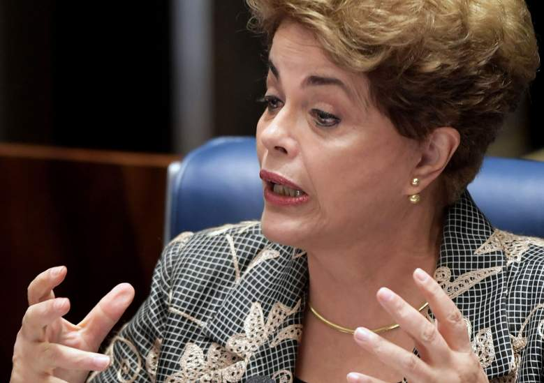 brazil president, dilma rousseff, impeachment, workers party, senate, hearing, trial