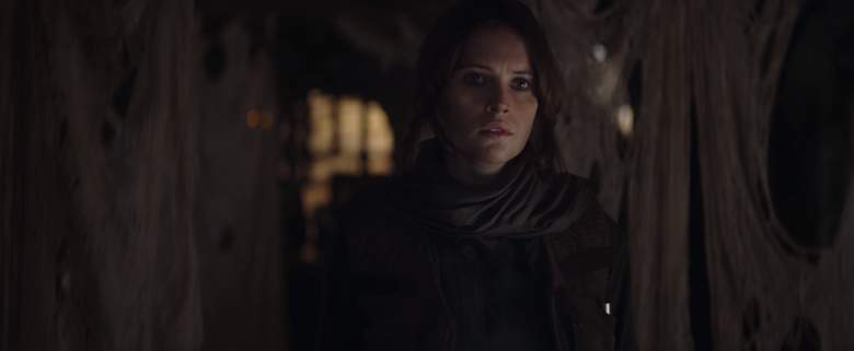 Felicity Jones, Rogue One trailer, Jyn Erso