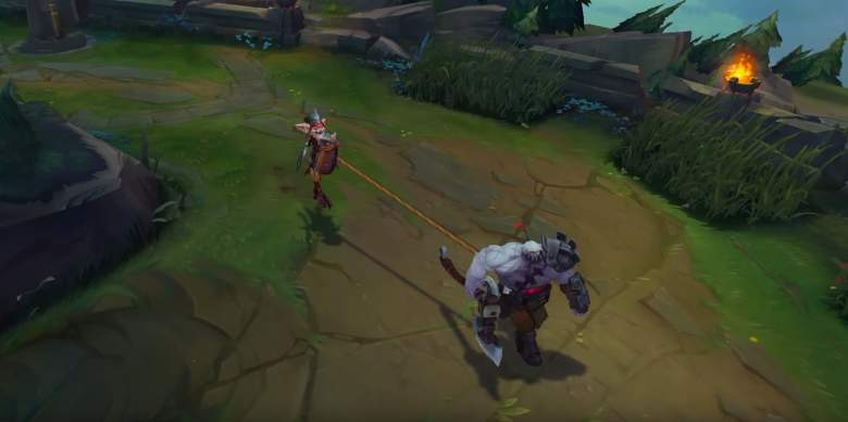 Kled and Skaarl, League of Legends
